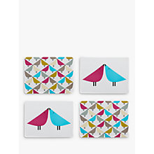 Buy Scion Lintu Birds Placemats, Assorted, Set of 4 Online at johnlewis.com