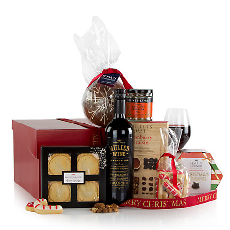 Buy John Lewis Seasonal Cheer Christmas Gift Box | John Lewis