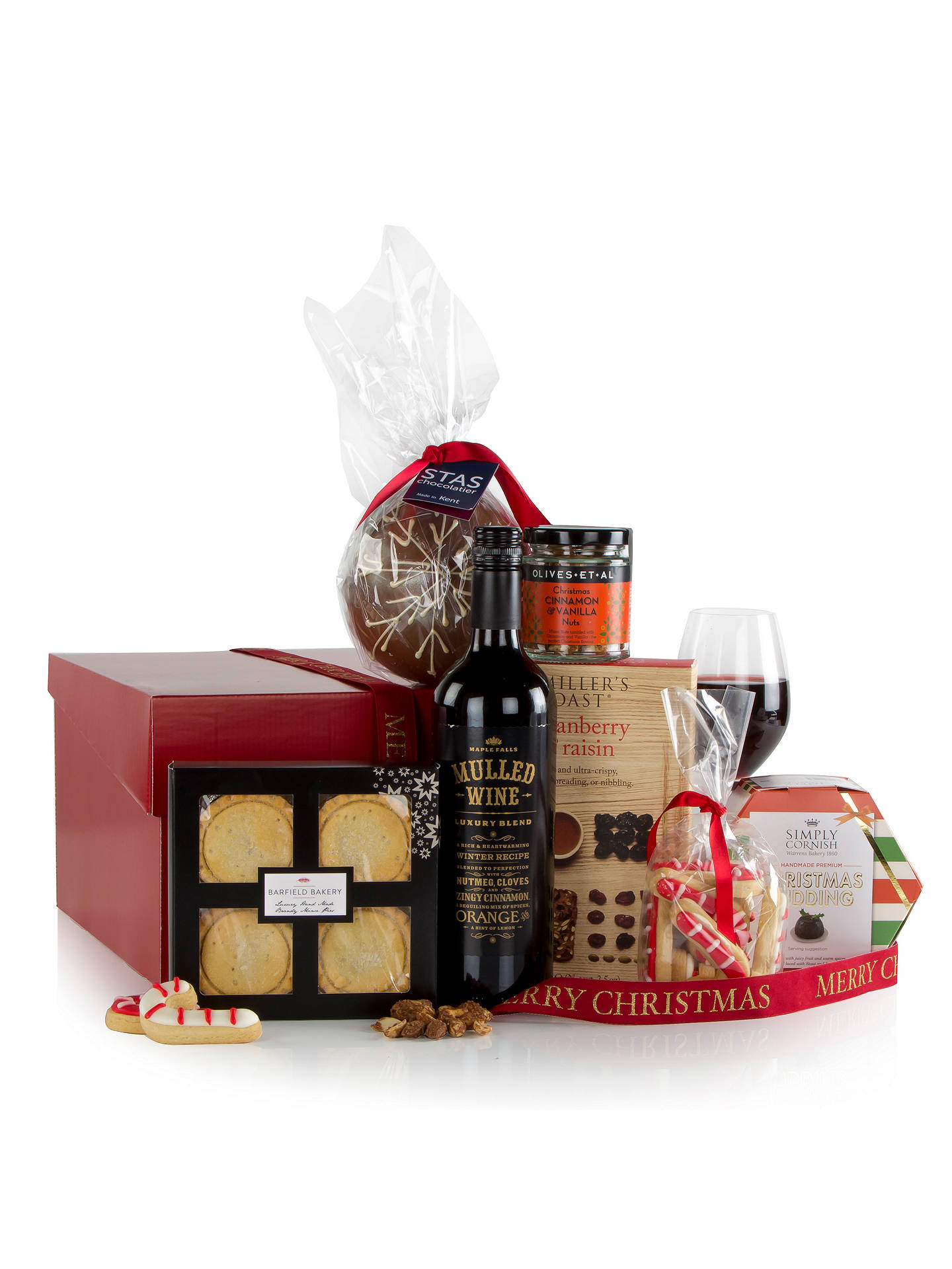 John Lewis Seasonal Cheer Christmas Gift Box at John Lewis ...