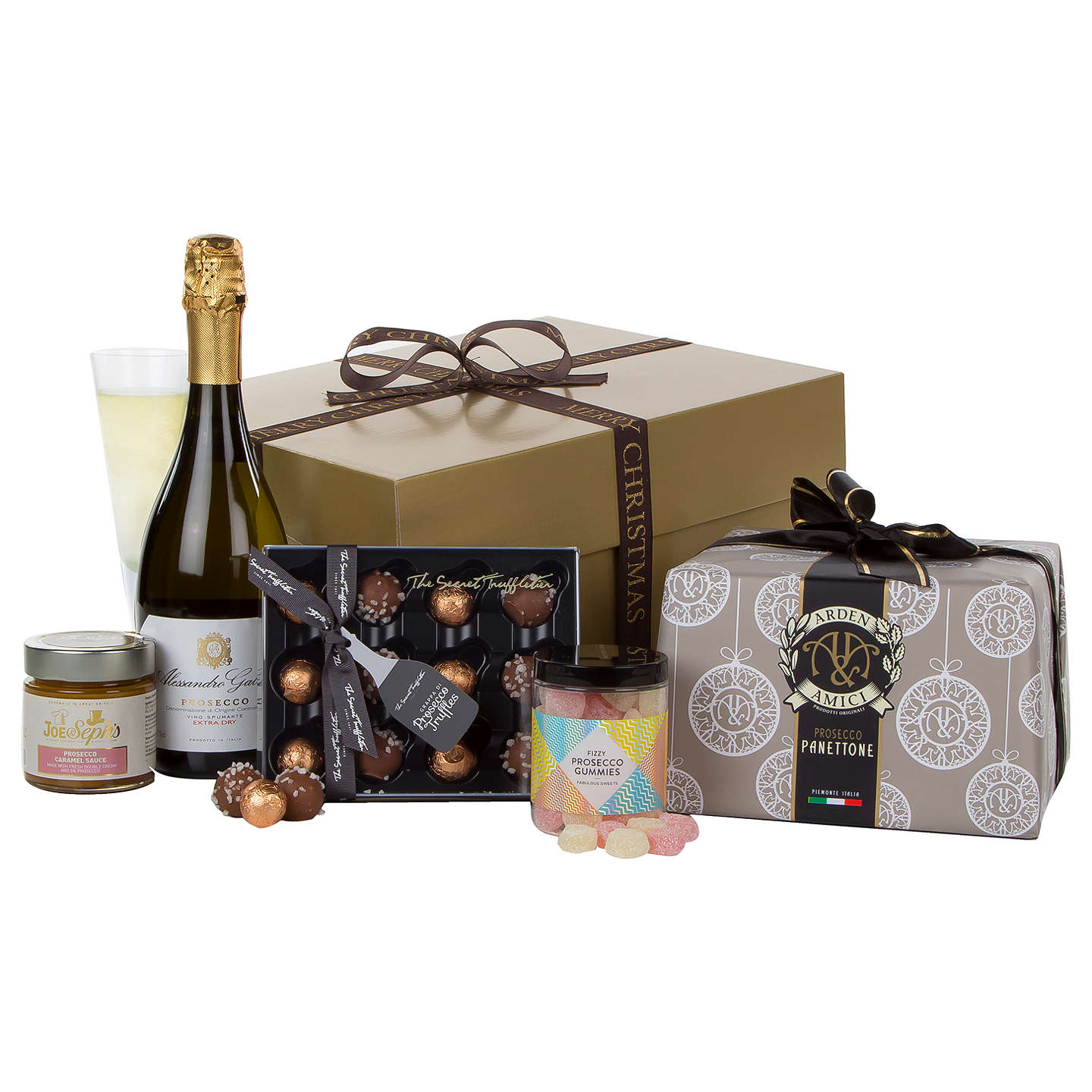 Buyjohn Lewis Festive Fizz Christmas Gift Box Online At Johnlewiscom
