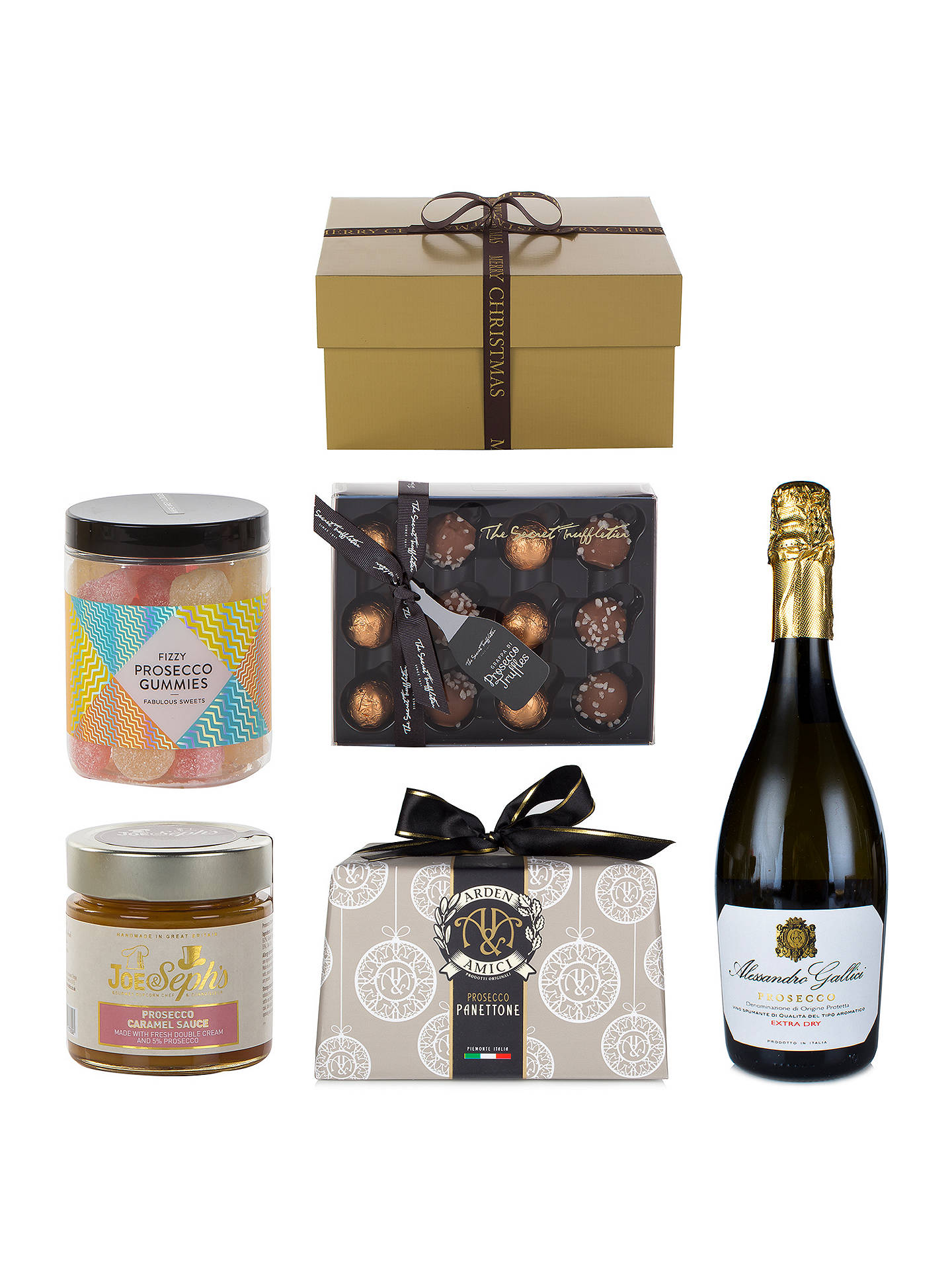 John Lewis Festive Fizz Christmas Gift Box at John Lewis ...