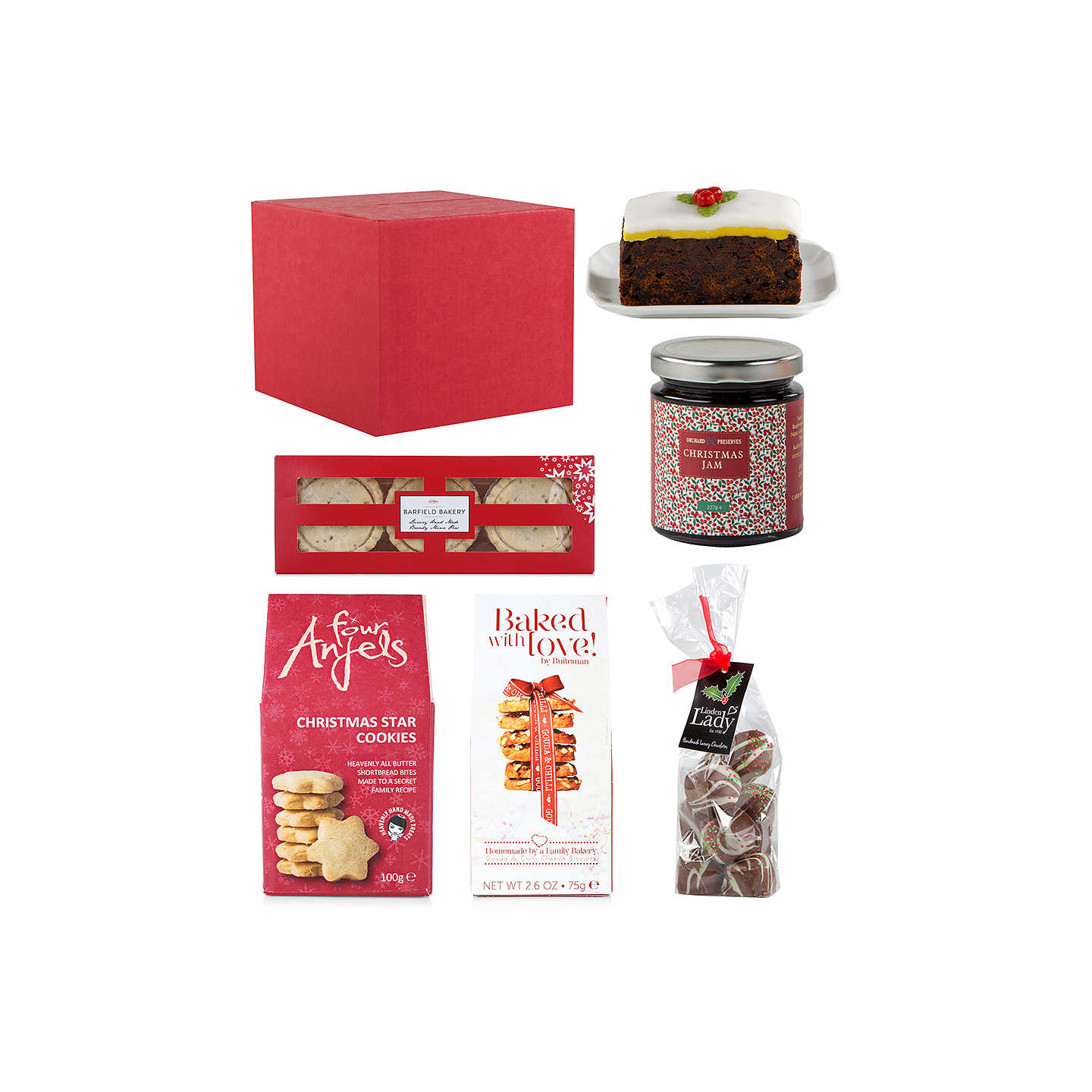 Buyjohn Lewis Taste Of Christmas Gift Box Online At Johnlewiscom