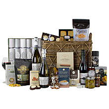 Buy John Lewis Silver Celebration Christmas Hamper Online at johnlewis.com