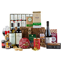 Buy John Lewis Festive Fireside Christmas Hamper Online at johnlewis.com
