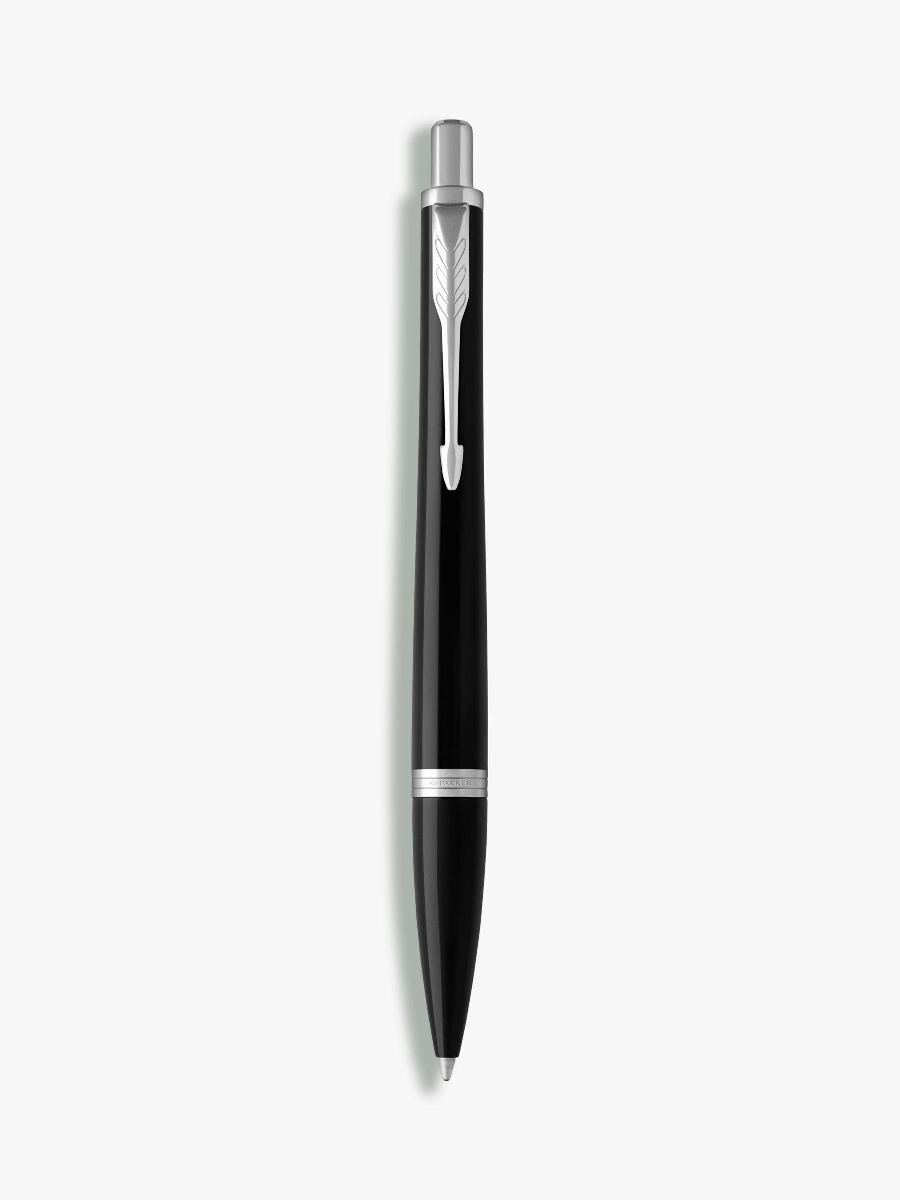 Parker PARKER Core Urban Ballpoint Pen, Chrome Black