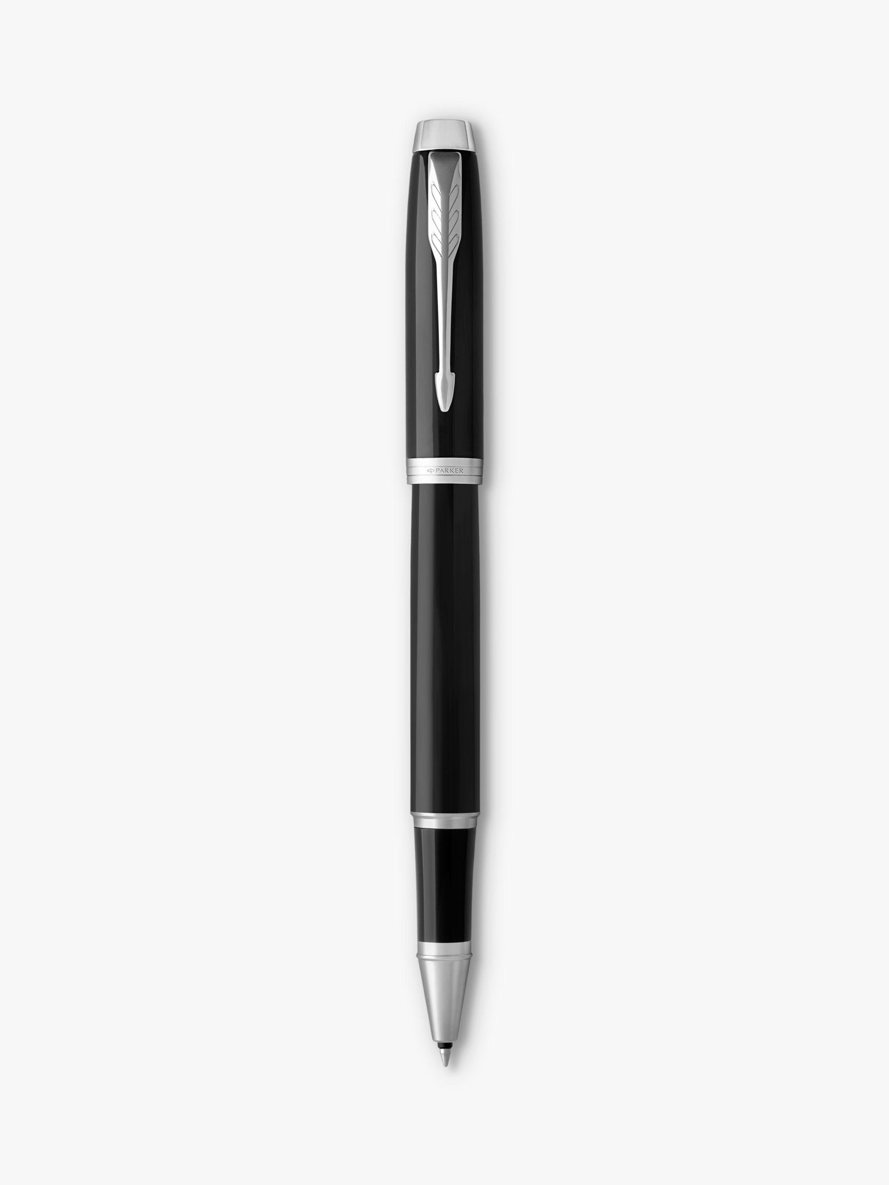 Parker PARKER Im Core Black Chrome Trim Rollerball Pen