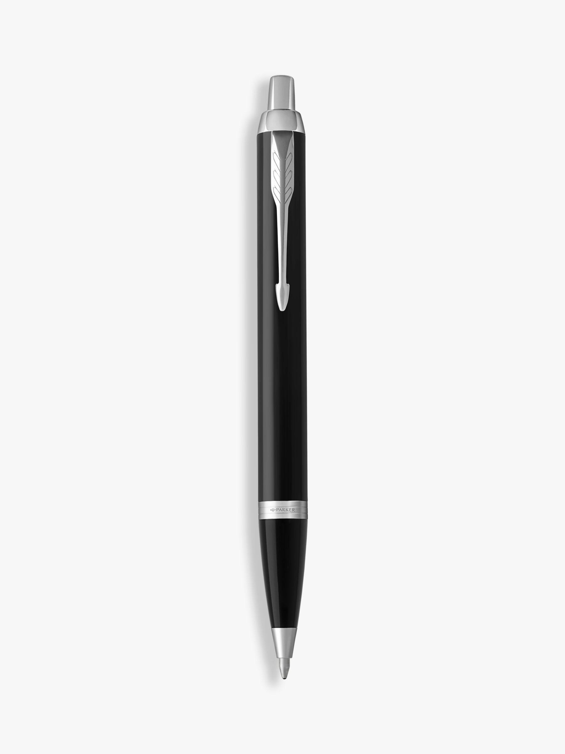Parker PARKER Im Core Black Chrome Trim Ballpoint Pen