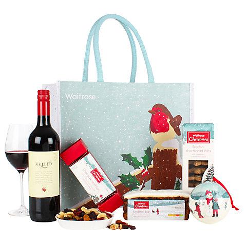 Buy Waitrose Christmas Robin Gift Bag Online at johnlewis.com ...