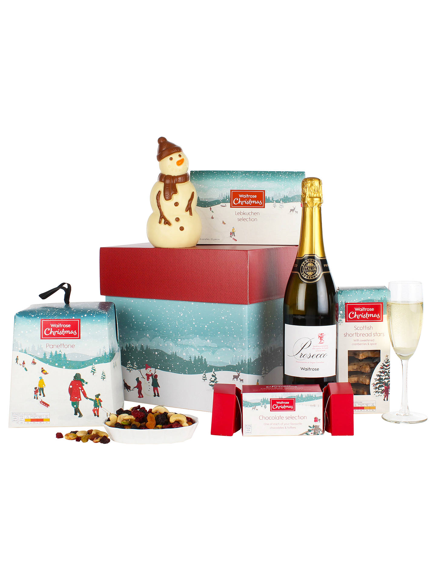 Waitrose Christmas Gift Box at John Lewis & Partners