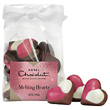 Buy Hotel Chocolat Melting Hearts Milk Chocolate, 100g Online at johnlewis.com