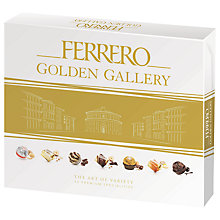 Buy Ferrero Golden Gallery 42 Chocolate Assortment, 389g Online at johnlewis.com
