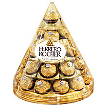 Buy Ferrero Rocher Cone, 350g Online at johnlewis.com