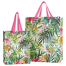 Buy John Lewis Tropical Leaf Gift Bag Online at johnlewis.com