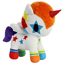 "Buy Aurora TokiDoki 10"" Bowie Unicorno Soft Toy Online at johnlewis.com"