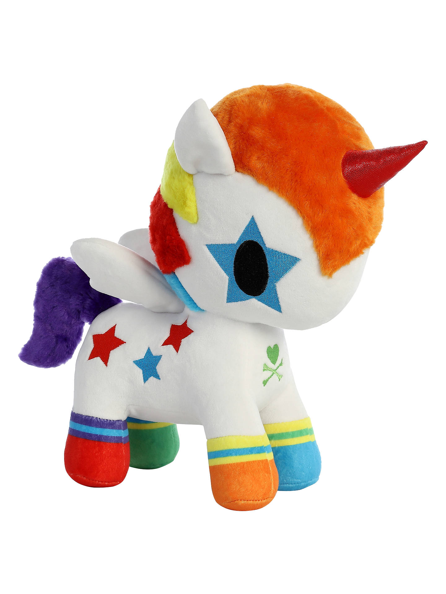 Buy Aurora TokiDoki Bowie Unicorno Soft Toy, Medium Online at johnlewis.com