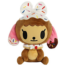 "Buy Aurora Donutella And Her Sweet Friends 9"" Donutina Soft Toy Online at johnlewis.com"