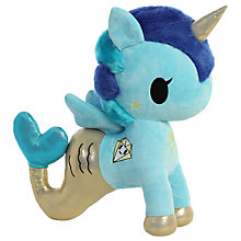 "Buy Aurora TokiDoki 19"" Corsica Mermicorno Soft Toy Online at johnlewis.com"