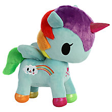 "Buy Aurora TokiDoki 10"" Pixie Unicorno Soft Toy Online at johnlewis.com"