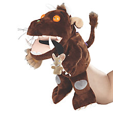 Buy The Gruffalo Hand Puppet, Brown Online at johnlewis.com
