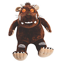 "Buy The Gruffalo 26"" Gruffalo Plush Soft Toy, Brown Online at johnlewis.com"