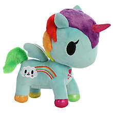 "Buy Aurora TokiDoki 8"" Pixie Unicorno Soft Toy Online at johnlewis.com"