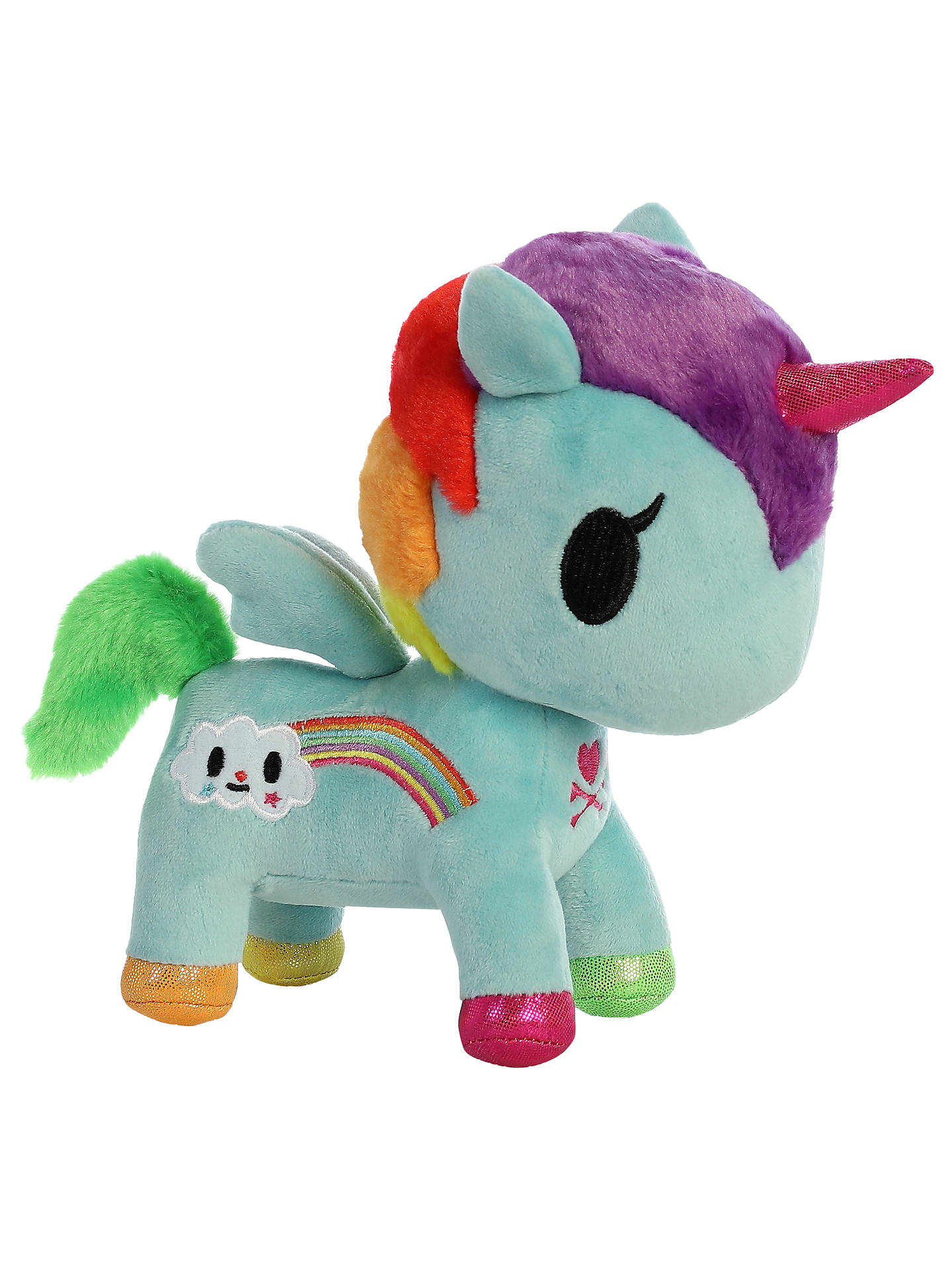 BuyAurora TokiDoki Pixie Unicorno Soft Toy, Small Online at johnlewis.com