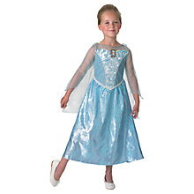 Buy Disney Princess Frozen Light And Sound Elsa Costume, L (7-8 yrs) Online at johnlewis.com