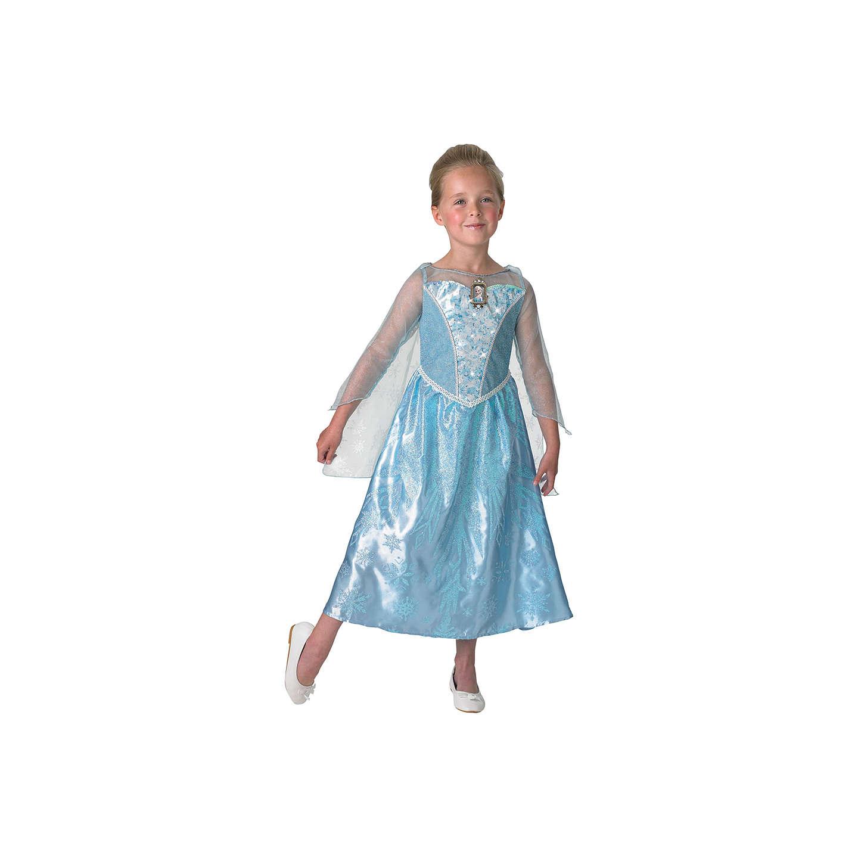 Disney Princess Frozen Light And Sound Elsa Costume, L (7-8 yrs) at ...