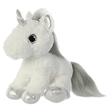 "Buy Aurora World Sparkle Tales 12"" Twilight Unicorn Soft Toy Online at johnlewis.com"