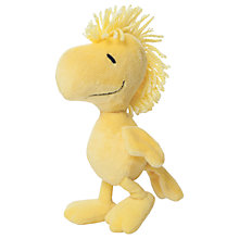 "Buy Peanuts 7"" Woodstock Soft Toy, Yellow Online at johnlewis.com"