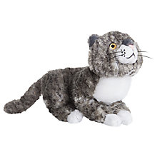 "Buy Mog the Forgetful Cat 9.5"" Plush Soft Toy Online at johnlewis.com"