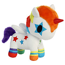 "Buy Aurora TokiDoki 8"" Bowie Unicorno Soft Toy Online at johnlewis.com"