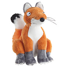 "Buy The Gruffalo 7"" Fox Plush Soft Toy, Orange Online at johnlewis.com"