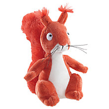 "Buy The Gruffalo 7"" Squirrel Plush Soft Toy, Red Online at johnlewis.com"