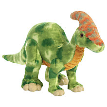 "Buy Aurora Parasaurolophus 14"" Soft Toy Online at johnlewis.com"
