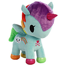 "Buy Aurora TokiDoki 19"" Pixie Unicorno Soft Toy Online at johnlewis.com"