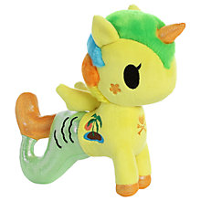 "Buy Aurora TokiDoki 8"" Tropica Mermicorno Soft Toy Online at johnlewis.com"