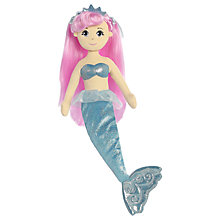 "Buy Aurora Sea Sparkles 18"" Crystal Soft Toy Online at johnlewis.com"