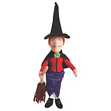 "Buy Room On The Broom 16.5"" Witch Soft Toy Online at johnlewis.com"