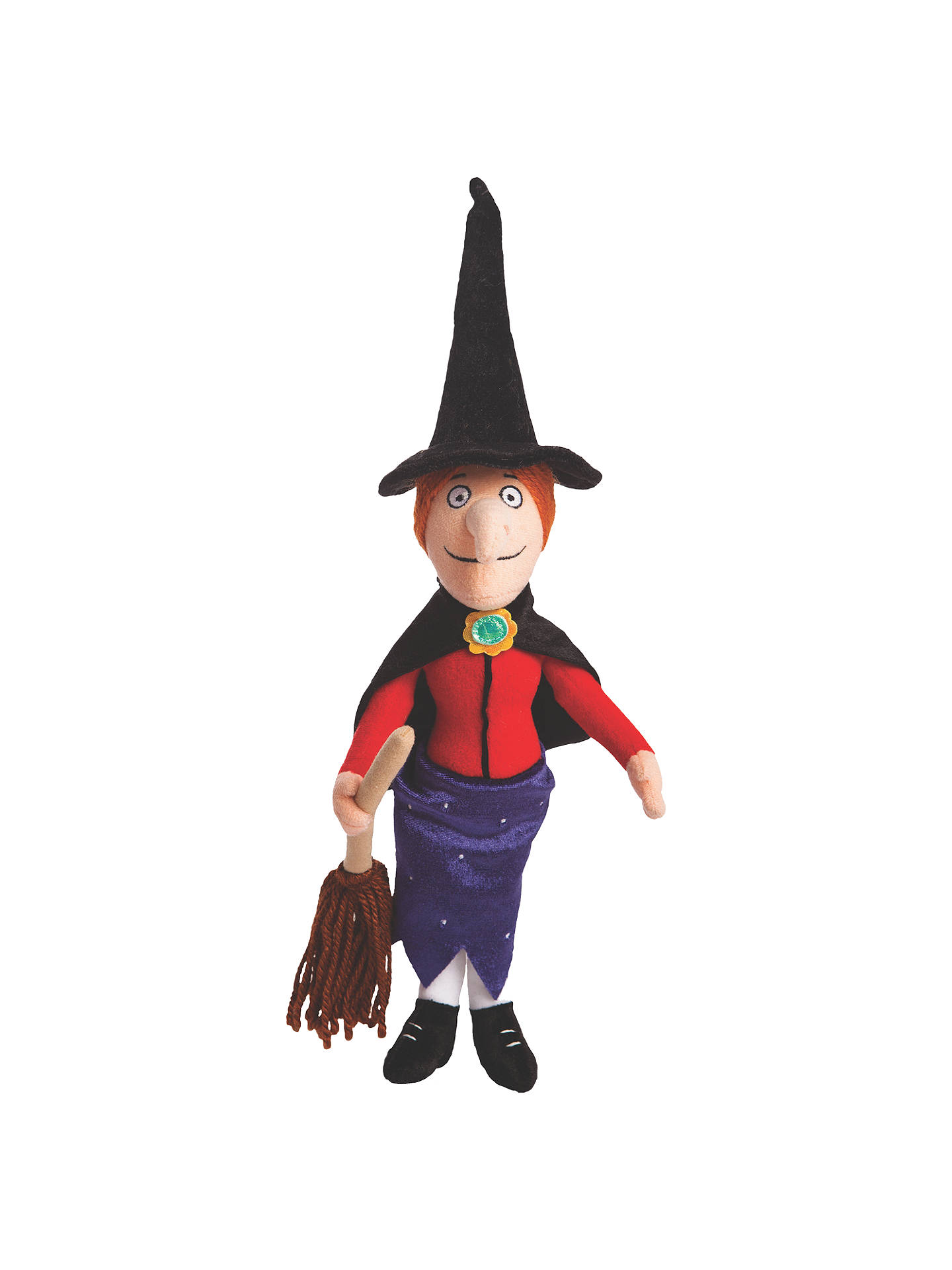 Room On The Broom Witch Soft Toy at John Lewis & Partners
