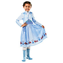 Buy Disney Princess Olaf's Frozen Adventure Anna Costume Online at johnlewis.com