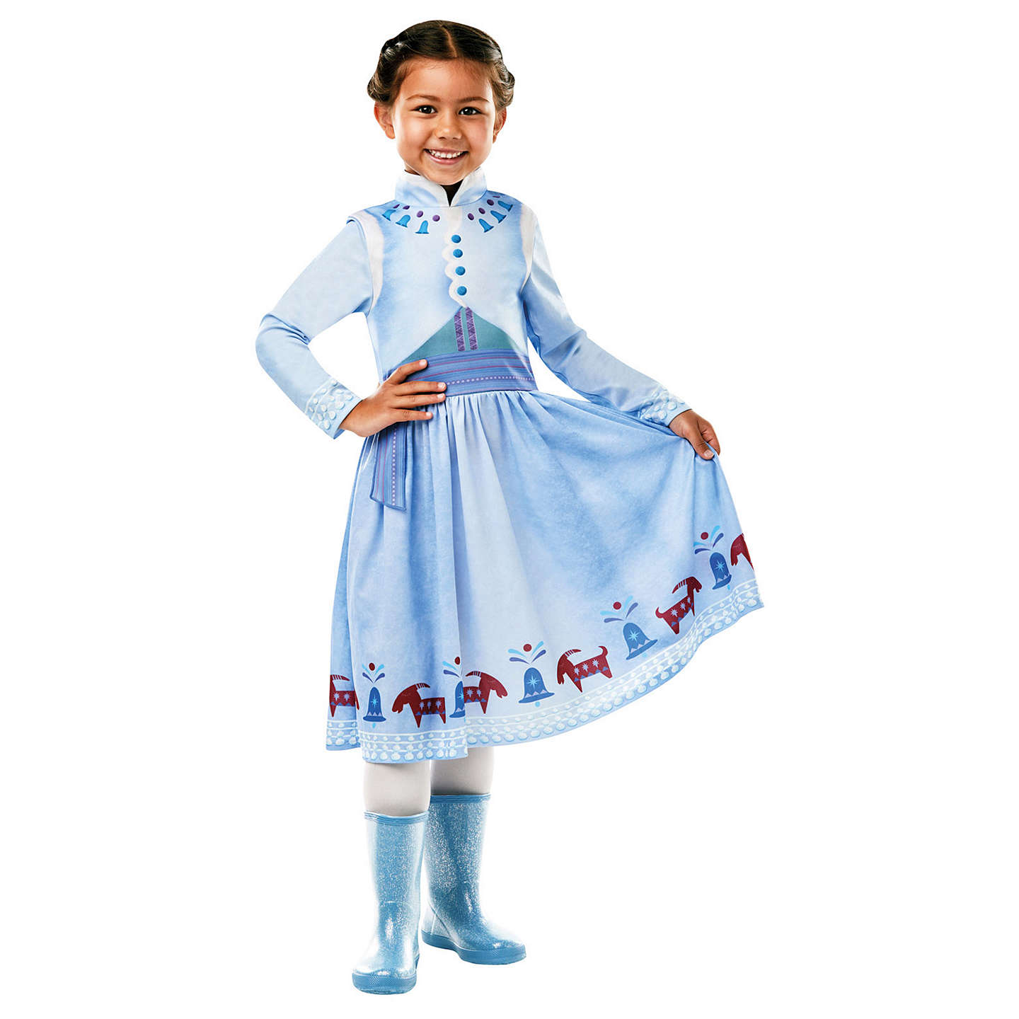 BuyDisney Princess Olafu0027s Frozen Adventure Anna Costume S (3-4 yrs) Online ...  sc 1 st  John Lewis & Disney Princess Olafu0027s Frozen Adventure Anna Costume at John Lewis