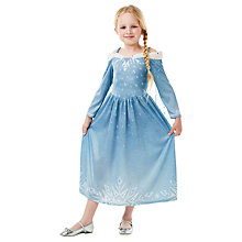 Buy Disney Princess Olaf's Frozen Adventure Elsa Costume Online at johnlewis.com