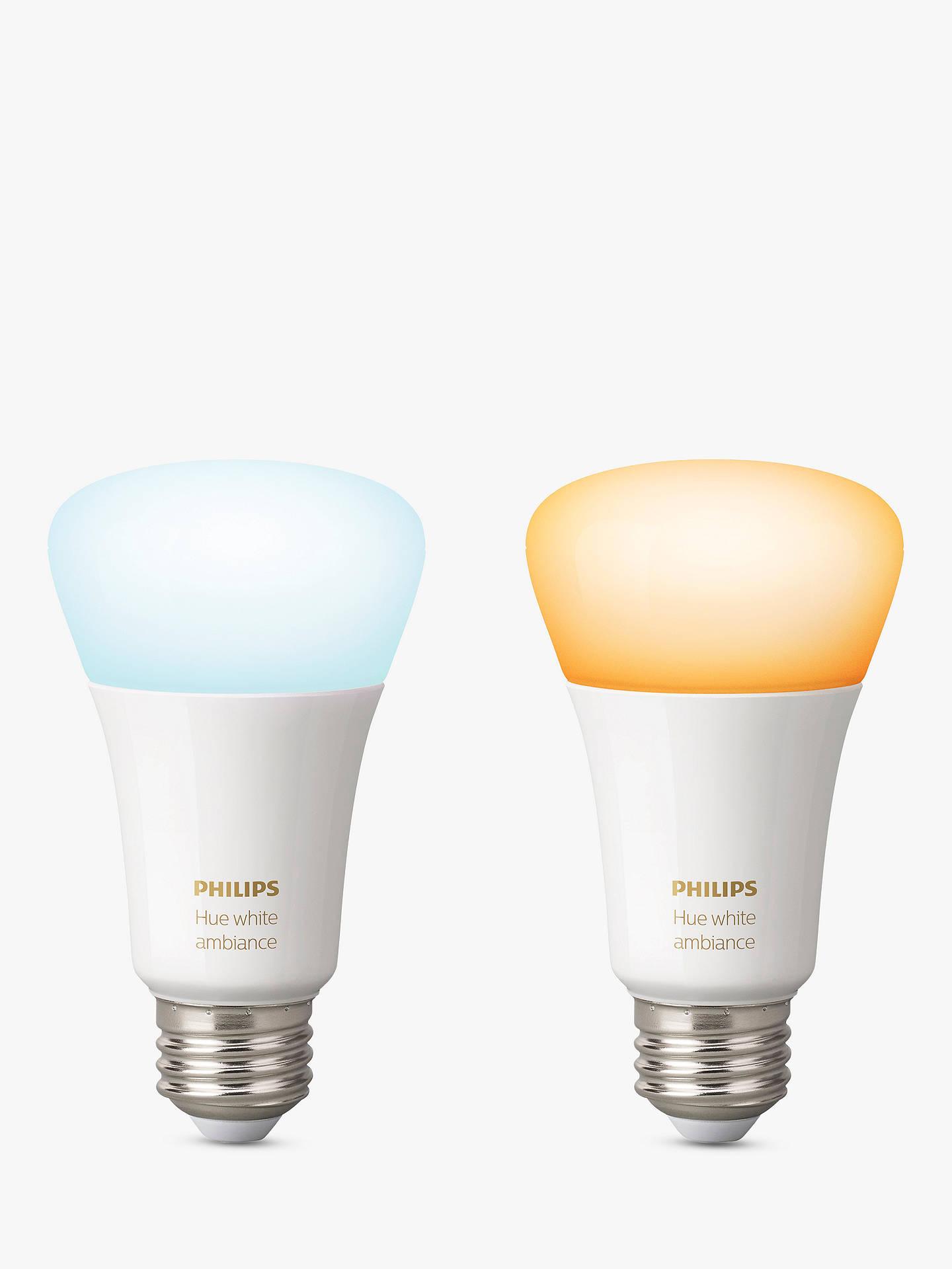 philips hue white ambiance wireless lighting led light. Black Bedroom Furniture Sets. Home Design Ideas
