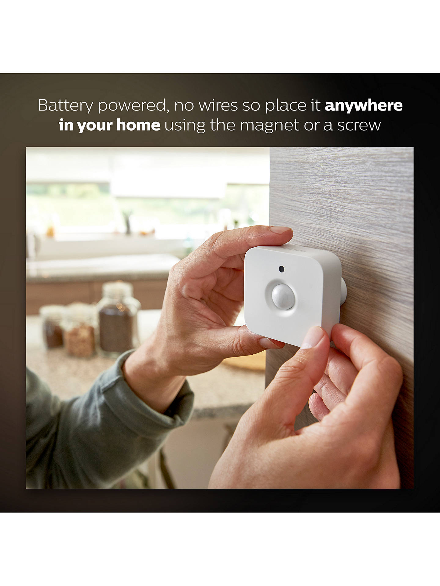 BuyPhilips Hue Motion Sensor Online at johnlewis.com