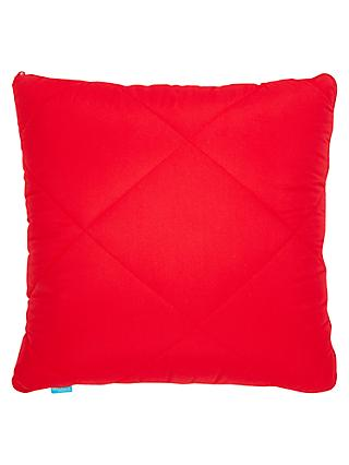 little home at John Lewis Magic Travel Pillow, Red