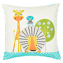 Buy little home at John Lewis Wildside Square Cushion Online at johnlewis.com