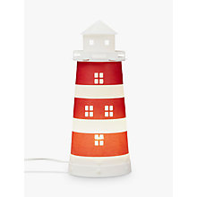 Buy little home at John Lewis Noisy Harbour Lighthouse Table Lamp Online at johnlewis.com