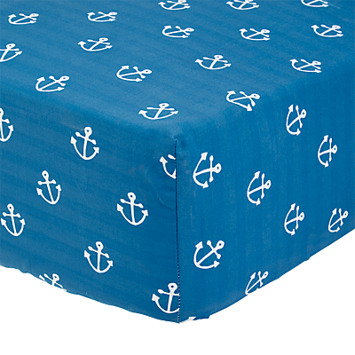 little home at John Lewis Noisy Harbour Fitted Sheet, Single