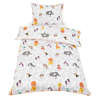 Little Home At John Lewis Animal Fun Duvet Cover And Pillowcase Set Single
